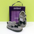 Zapato Pediped Original Natasha Black-White ¡LIQUIDACIÓN!
